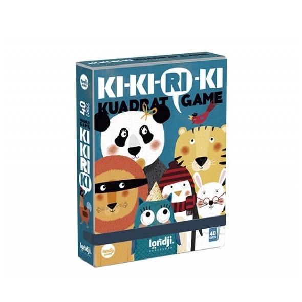 Jeu de cartes - Ki-ki-ri-ki kuadrat