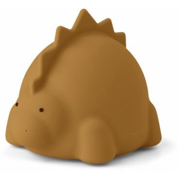 Veilleuse en silicone Winston - Dino (moutarde)