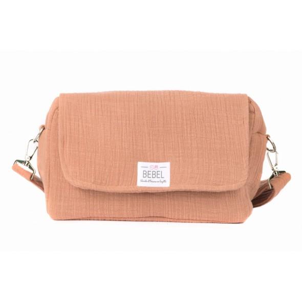 Mini sac à langer Bonbon - Terracotta