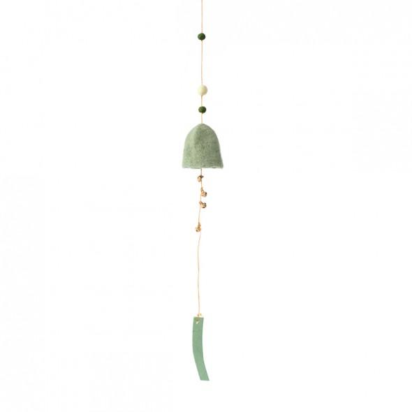 Suspension cloche - Vert tendre