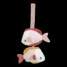 Tapis d'activités coquille - Ocean pink