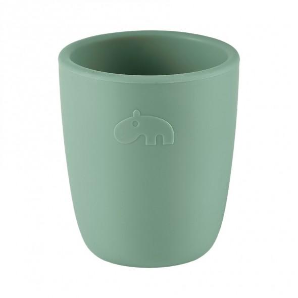 Mini mug en silicone - Vert