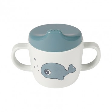 Tasse d'apprentissage - Sea friends, bleu