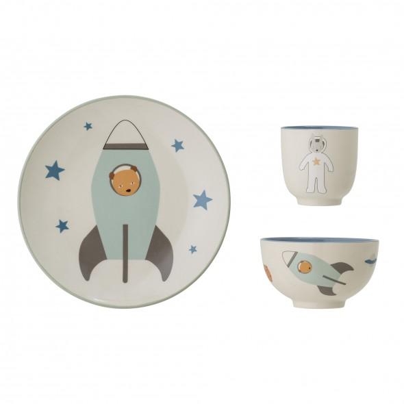 Set de vaisselle en grès - Espace