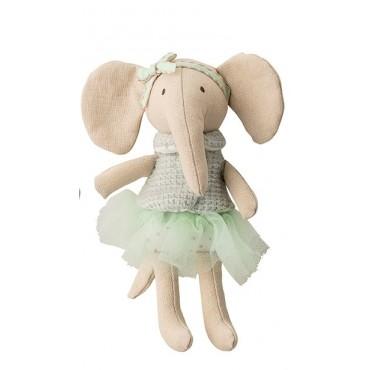 Petit éléphant en coton