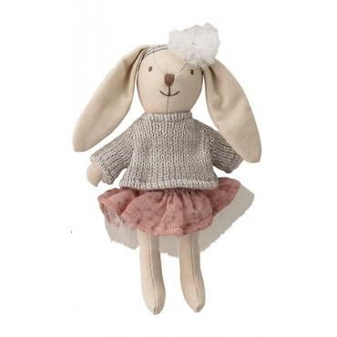 Petit lapin en coton
