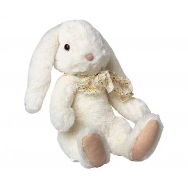 Peluche Lapin Fluffy - Crème (Large)
