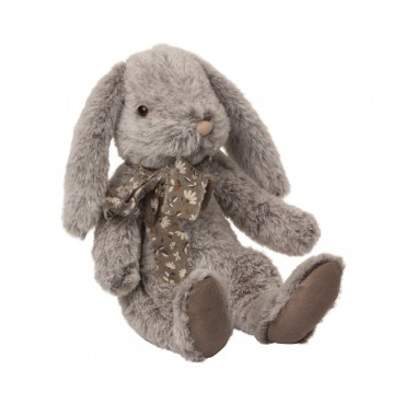Peluche Lapin Fluffy - Gris (Large)
