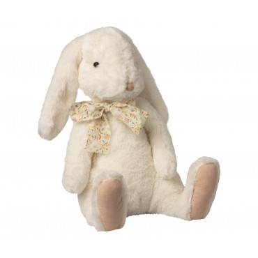 Peluche Lapin Fluffy - Crème (X-Large)
