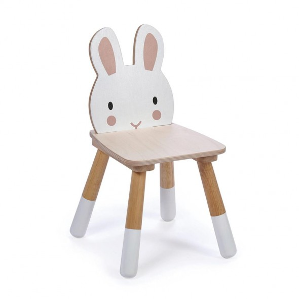 Chaise en bois - Lapin