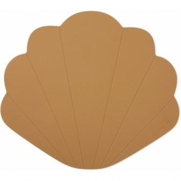 Set de table Coquillage en silicone - Terra cotta