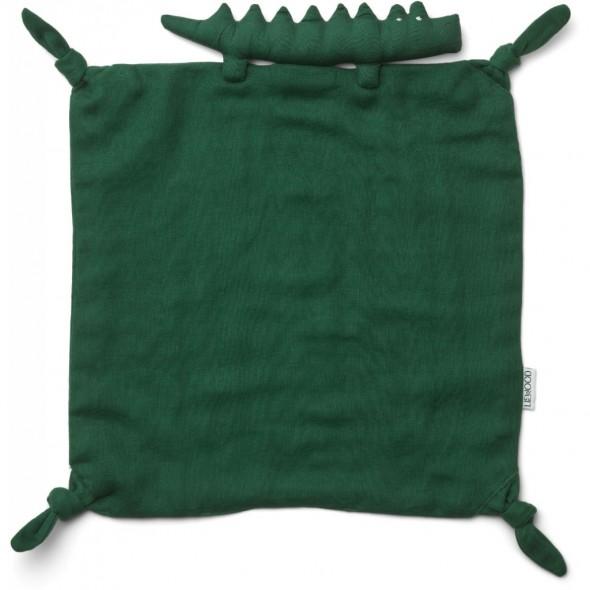 Doudou Agnete - Crocodile (garden green)