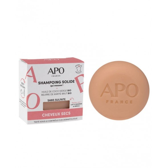 Shampoing solide - Cheveux secs (75g)