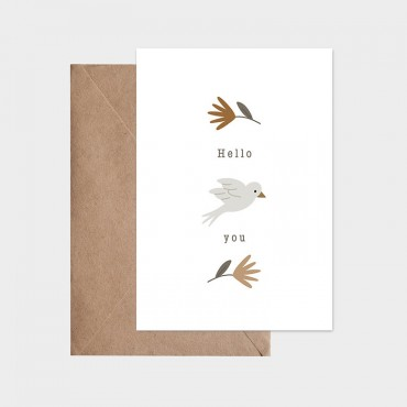 Carte postale - Un air de printemps