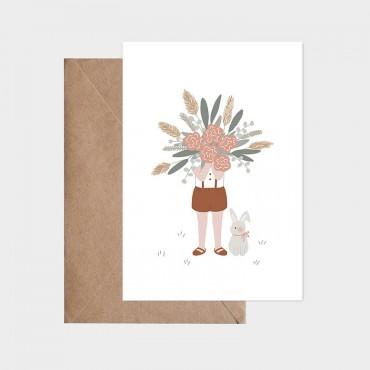 Carte postale - Le gros bouquet