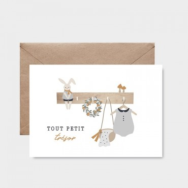 Carte postale - Tout petit trésor (garçon)
