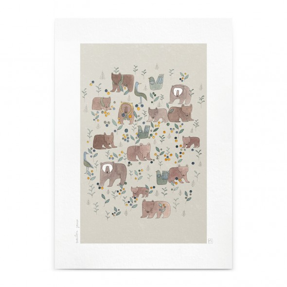 Affiche - Ourses (A4)