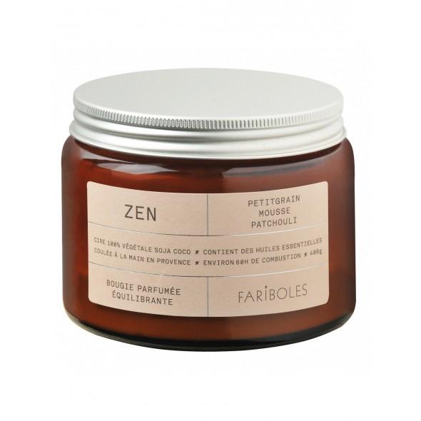 Bougie naturelle - Zen (400 g)