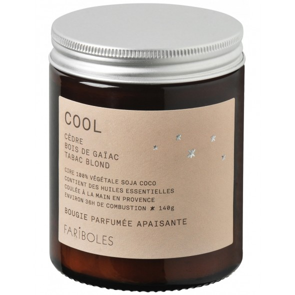 Bougie naturelle - Cool (140 g)