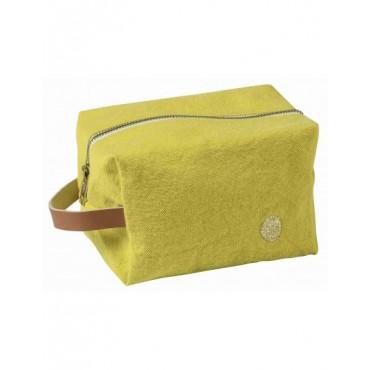 Trousse de toilette cube - Bergamote (PM)