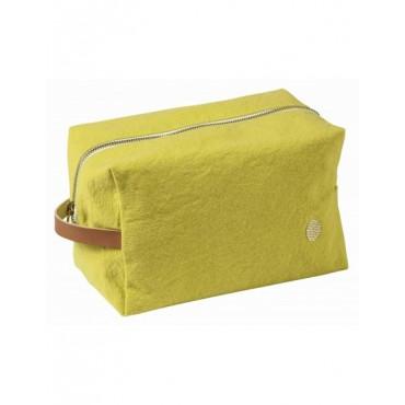 Trousse de toilette cube - Bergamote (GM)