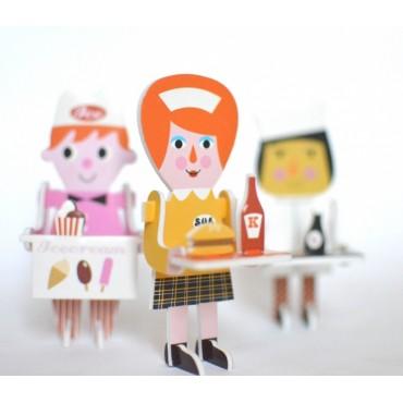 Puzzle 3D Personnages par Ingela P. Arrhenius