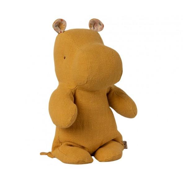 Doudou Hippo - Dusty yellow (Small)