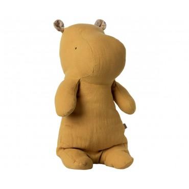Doudou Hippo - Dusty yellow (Medium)