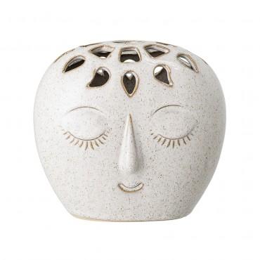 Vase blanc Elissa