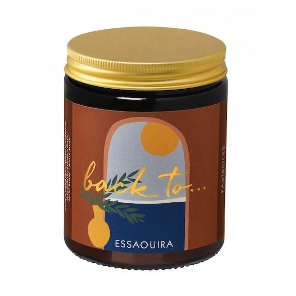 Bougie naturelle - Back to Essaouira (140 g)