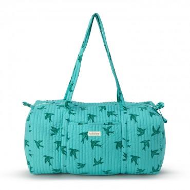 Grand sac de voyage - Green bird