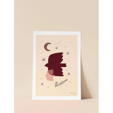 Affiche - Les oiseaux