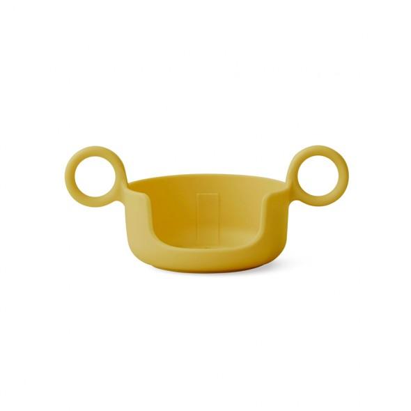 Poignée pour tasse Design letters - Moutarde