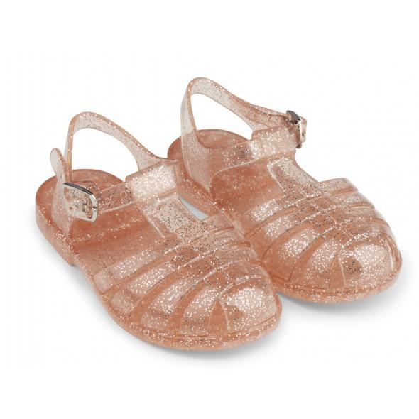 Sandales Bree - Glitter peach