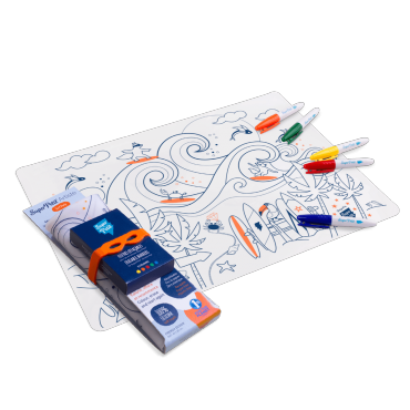 Set de table en silicone - Surf