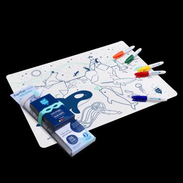 Set de table en silicone - Banquise