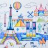 Set de table en silicone - Paris