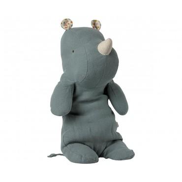 Doudou Hippo - Dusty blue (Medium)