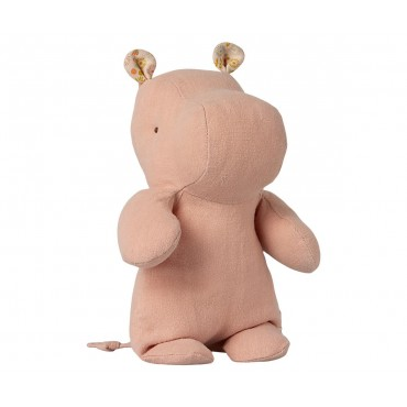 Doudou Hippo - Rose (Small)