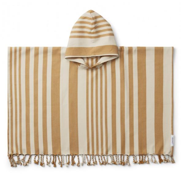 Poncho de plage Roomie - Moutarde / sandy