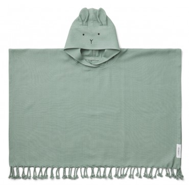 Poncho de plage Otis - Rabbit / Peppermint