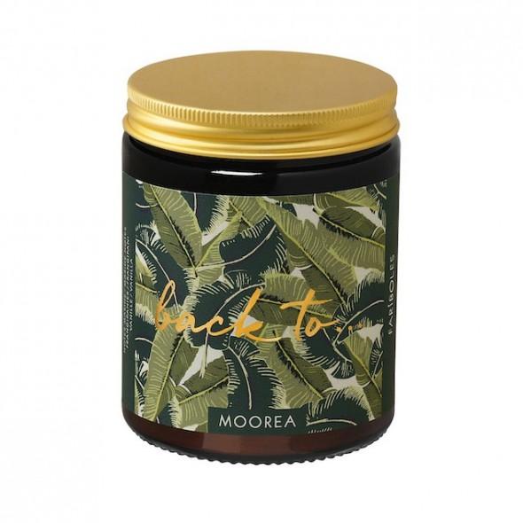 Bougie naturelle - Back to Moorea (140 g)