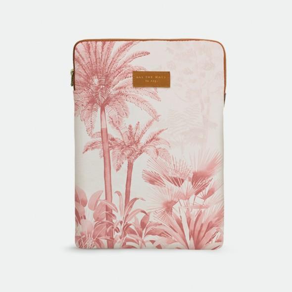 """Housse d'ordinateur 13"""" - Pink forest"""