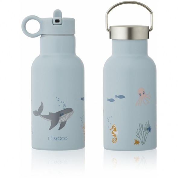 Gourde isotherme Anker - Sea creature blue