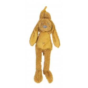 Peluche lapin musicale Richie - Ocre