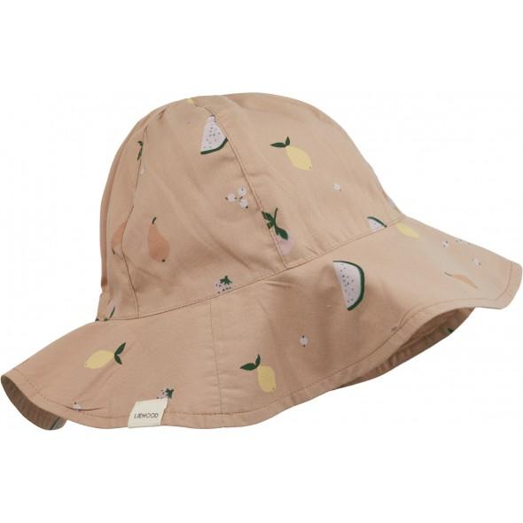 Chapeau de soleil Amelia - Fruit pale tuscany