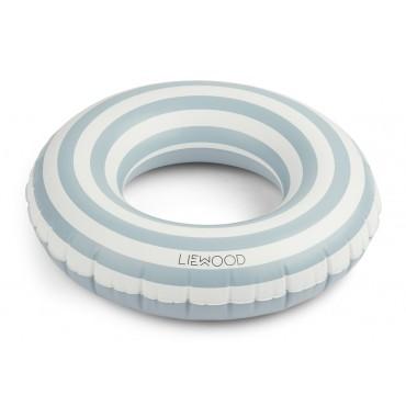 Bouée gonflable Baloo - Rayures sea blue
