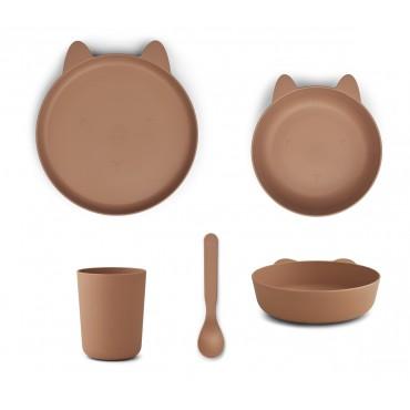 Set de vaisselle Paul - Rabbit (tuscany rose)