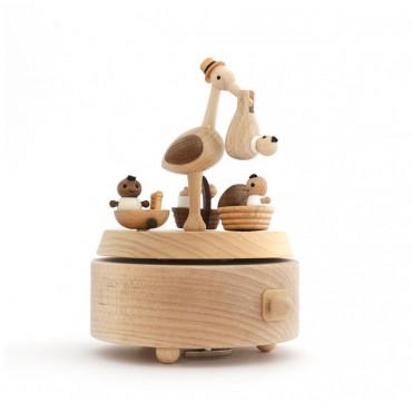 Boite à musique - Baby stork