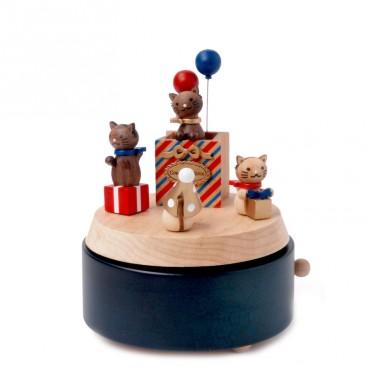 Boite à musique - Cat gift